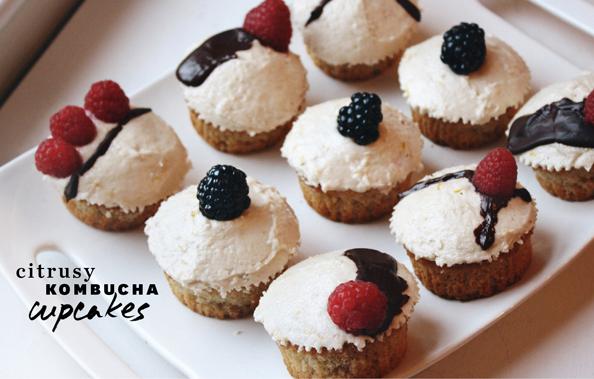 Vegan Kombucha Cupcakes LAIKA