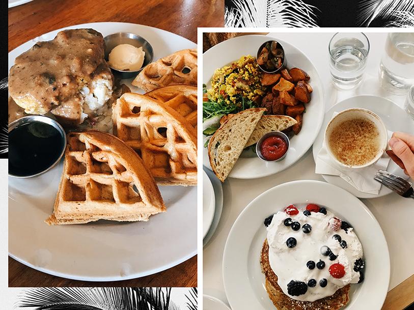 Vegan Los Angeles Breakfast